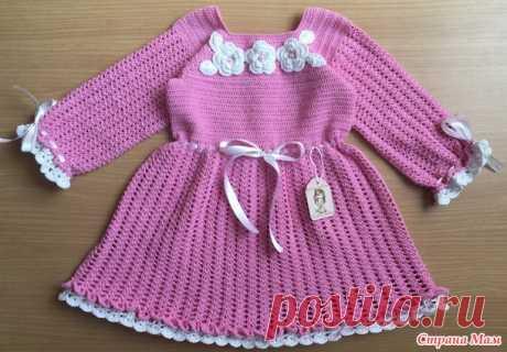El vestido por el gancho - la Labor de punto para los niños - el País de las Mamás
