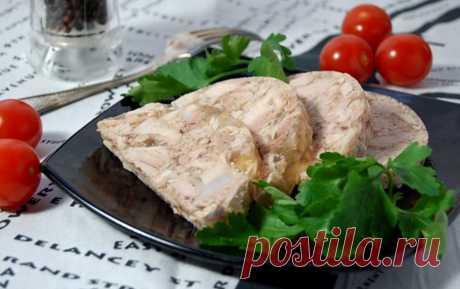 Очень легкая закуска: куриный сальтисон — Фактор Вкуса