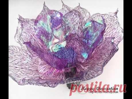 FLEURS EN PLASTIQUE (PET) \ Grandes fleurs en plastique