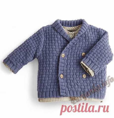 Детское пальто спицами: описание, схемы, видео МК, 6 моделей