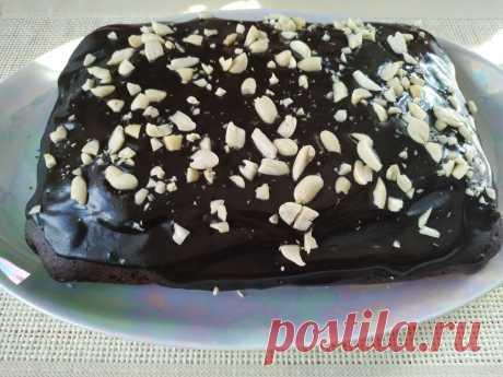 Шоколадный пирог без яиц и молочных продуктов | Рецепты Светланы Аникановой | Яндекс Дзен