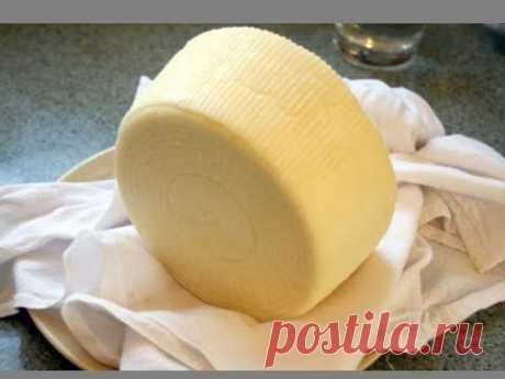 Домашний твердый сыр / Рецепт вкусного сыра