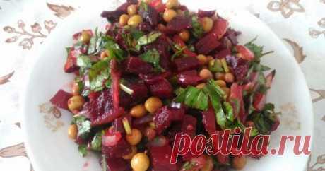 Вкусные салаты из отварной свеклы: рецепты с фото