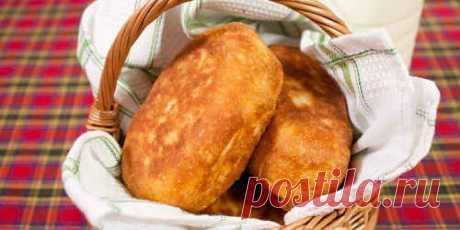 Пирожки с Картошкой, Жареные на Сковороде - Рецепт с Фото