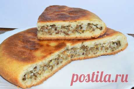 Пирог без духовки с мясной начинкой – пошаговый рецепт с фотографиями