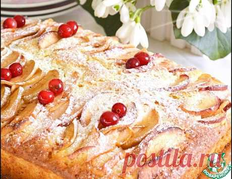 Пирог с яблоками – кулинарный рецепт