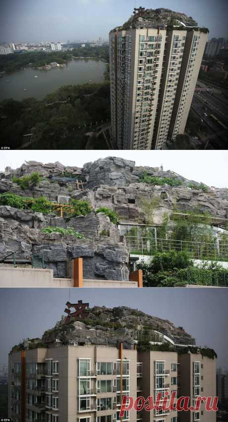 Горная вилла на крыше многоквартирного жилого дома : НОВОСТИ В ФОТОГРАФИЯХ