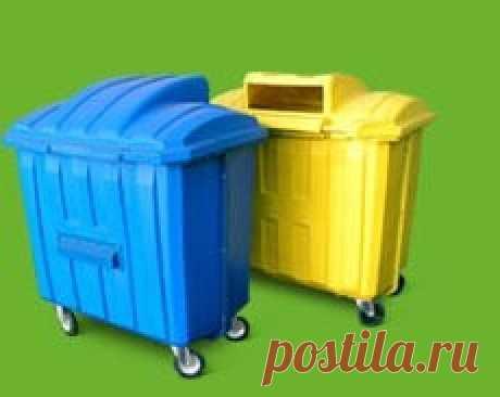 """Контейнеры для мусора пластиковые. Товары и услуги компании """"ООО """"ЭКОРЕСУРС"""""""""""