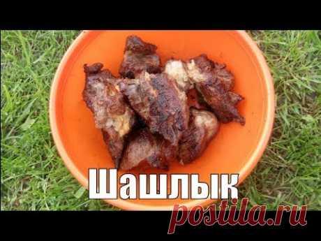 Шашлык из свинины на кефире