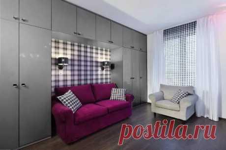 Идеи для оформления стены за диваном   Мой дом