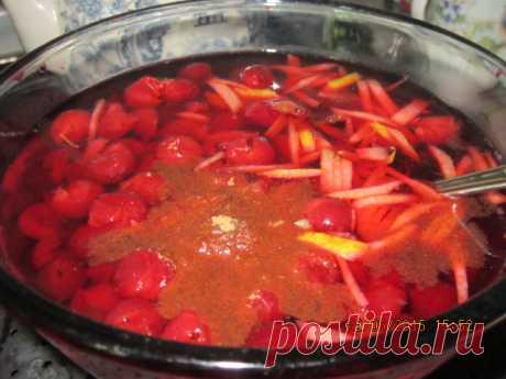 Cherry vinegar