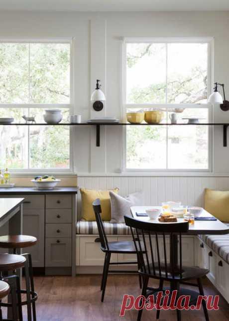 Кухонные уголки: 104 фото кухонных уголков
