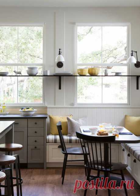 Kitchen corners: 104 photos of kitchen corners