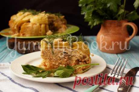 Кабачковый пирог с фаршем в мультиварке - пошаговый рецепт с фото