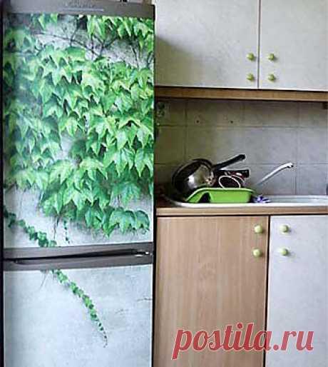 Как необычно украсить холодильник?.