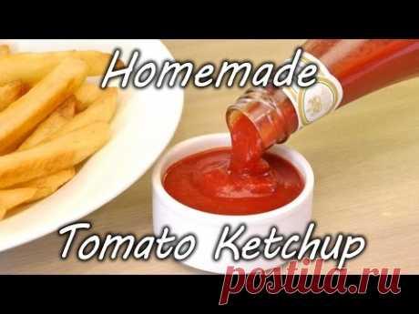 Как приготовить домашний кетчуп   Вкусные рецепты