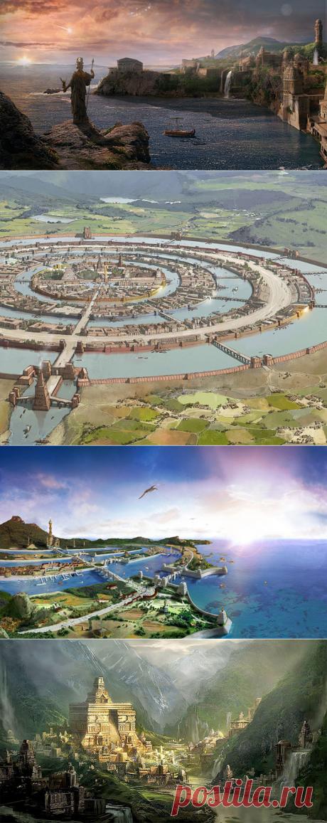 Цивилизация Атлантида