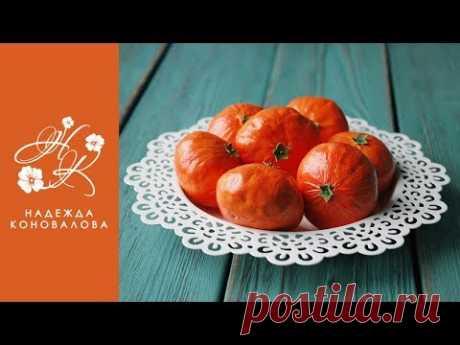 Как сделать мандарины из фоамирана легко и быстро.