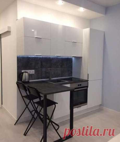 Как выглядит микроквартира-студия 18 кв.м. Спальня и кухня в одной комнате? | Люблю Себя