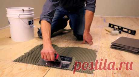 Как уложить плитку на основание из гипсокартона :: Ремонт квартиры :: KakProsto.ru: как просто сделать всё