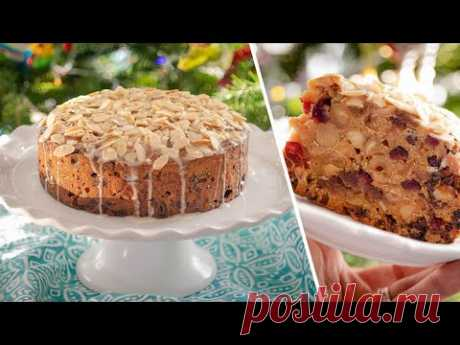 РОЖДЕСТВЕНСКИЙ КЕКС с сухофруктами и орехами | Christmas Fruit Cake новогоднее меню 2021