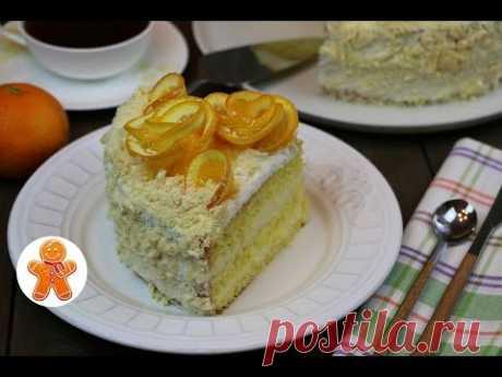 Апельсиновый торт очень простой рецепт ✧ Orange Cake (English Subtitles)