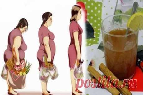 Этот медово-лимонный напиток на основе корицы способен помочь вам потерять 4 кг за неделю - Счастливые заметки