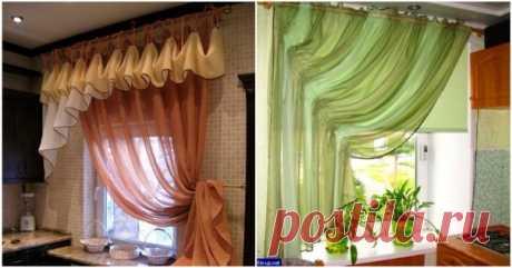Чудесные шторы для уюта вашего дома — Сделай сам, идеи для творчества - DIY Ideas