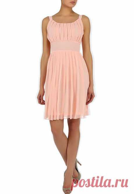 Нежно розовое платье - 2 498 руб.