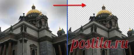 PhotoshopSunduchok - Как вырезать объект в фотошопе