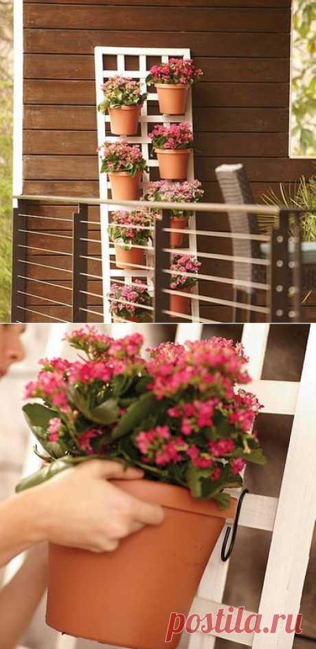 Vertical garden the handles