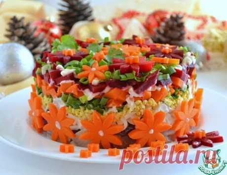 Идеи новогоднего украшения салатов | ПОВАРЁНОК.РУ | Яндекс Дзен