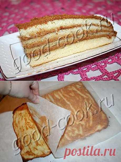 Хорошая кухня - медовый торт с вареным сгущенным молоком. Кулинарная книга рецептов. Салаты, выпечка.