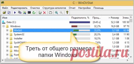 Как удалить ненужные обновления Windows в папке WinSxS