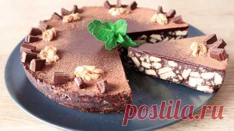 Просто и со вкусом - без выпечки и духовки! Потрясающий шоколадный торт! | Кухня от Татьяны | Яндекс Дзен