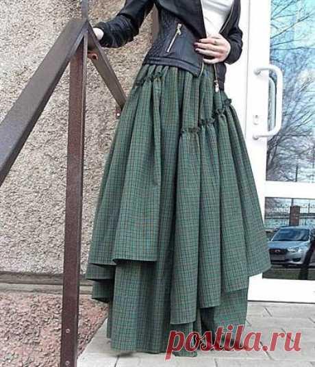 Выкройки бохо: стильная юбка и другие наряды для полных женщин с видео