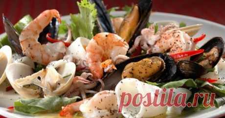 Морская диета. любители морепродуктов будут в восторге!