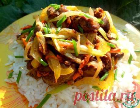 Рис с печенью по-восточному – кулинарный рецепт