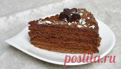 """Шоколадный торт """"Рыжик"""""""