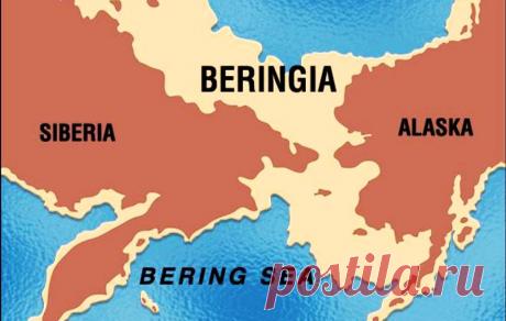 Берингия. О древней геологической катастрофе этого места | Популярная наука | Яндекс Дзен