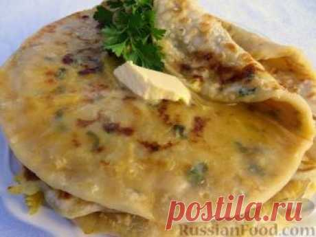 Recipe: Alou Paratkh (the Indian flat cakes with a potato stuffing) on RussianFood.com