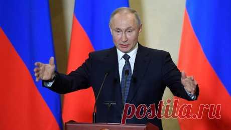 Путин выступит с новым обращением к россиянам Президент России Владимир Путин 11 мая во второй половине дня выступит с обращением к россиянам. Речь пойдёт о санитарно-эпидемиологической обстановке иновых мерах поподдержке граждан иэкономики страны.
