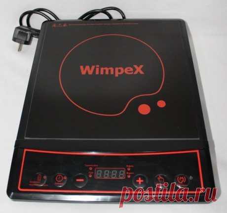 Индукционная плита Wimpex WX-1323 2000W Таймер, многофункциональная. Цена 400.00 грн, купить в Одессе Компактная индукционная плита на 1 конфорку занимает совсем немного места, а источником питания служит электричество.Процесс приготовления пищи занимает меньше времени, чем на обычных варочных панелях, благодаря быстрому разогреву посуды. Благодаря своему дизайну, она с легкостью впишется в Ваш