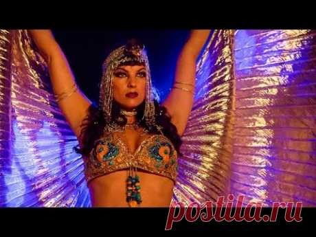 Vintage Belly Dance by Alia - Queen of the Nile - Ruby Revue - YouTube