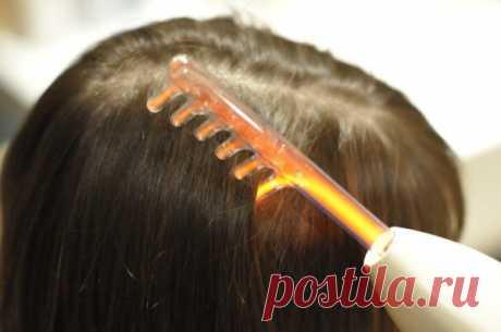 Дарсонвализация волос: видео-инструкция по лечению волосистой части головы своими руками, фото и цена