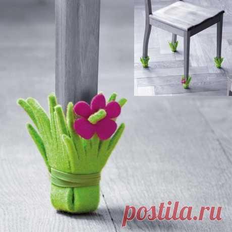 Вот так легко и просто можно предотвратить царапины от мебели на полу.  #РасписнойСундучок #киров #чепецк #идея #своимируками #всякиеполезности #вдохновение #длядома #уют #творчество
