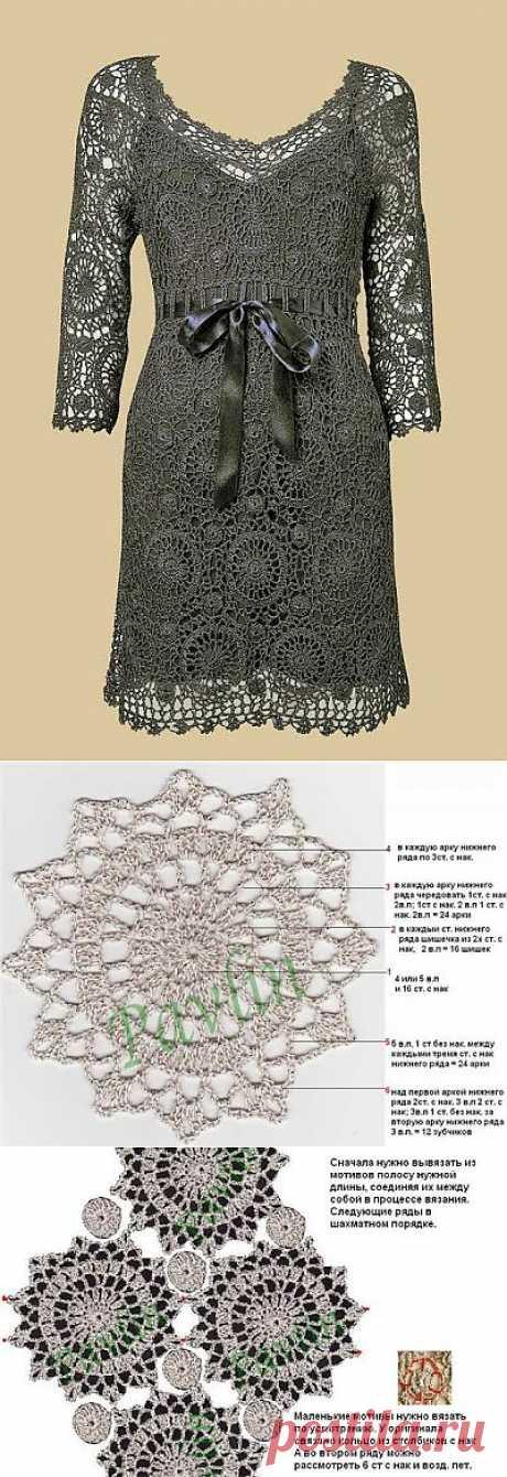 Обворожительное платье мотивами от @лёнк@ .