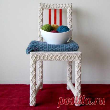 Вязаные стулья и кресла (трафик)