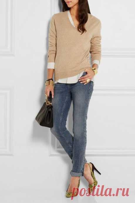 Подборка классных образов с джинсами — Модно / Nemodno