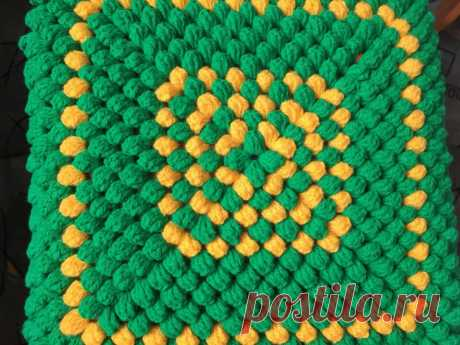 Сидушка на Табурет | Вязание и Рукоделие | Яндекс Дзен